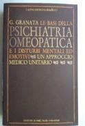 Le basi della psichiatria omeopatica e i disturbi mentali ed emotivi