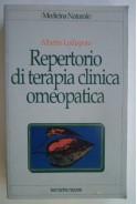 Repertorio di terapia clinica omeopatica