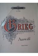 60 ausgemahlte Lieder fur eine Singftimme und Klavier von Еdvard Grieg. Auswahl