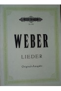 Ausgemahlte Lieder fur eine Singstimme mit Pianofortebegleitung von C. M. fon Weber