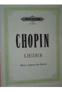 Polnische Lieder fur eine Singstimme mit Pianoforte Poegleitung komponiert von Friedr. Chopin