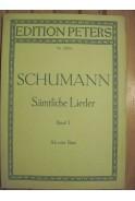 Schumann. Samtliche Lieder. Band I. Alt oder Bass