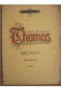 Thomas. Mignon. Klavierauszug (Soldan)