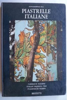 Piastrelle italiane. Agnoldomenico Pica