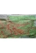Стара карта на България. 1938г