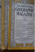 Стари списания The National Geographic Magazine. 6 броя от 1927- 1934