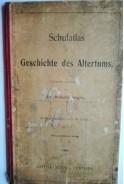 Schulatlas zur Geschichte des Altertums. Wilhelm Sieglin